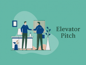 elevator pitch- image