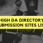 HIGH DA DIRECTORY SUBMISSION SITES LIST